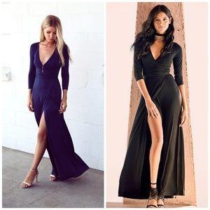 LULUS Garden District Long Wrap Maxi Dresses <3